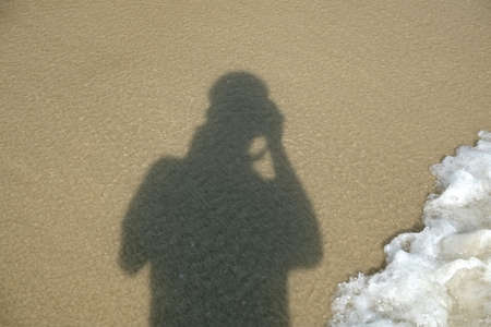 Shadows on the Sand and wave