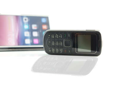 touchphone: Shadow smart phone and normal phone
