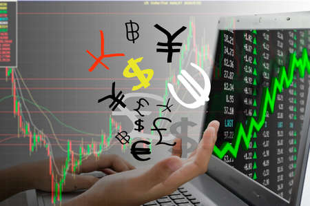 Trading Trade Stock Exchange Market Investment Concept Stock Photo
