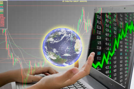 stock: concept businessman stock market