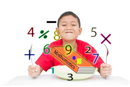 Smart kid get ready learning for new experience