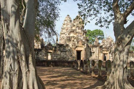 Old castle (sdok kok thom) in Thailand