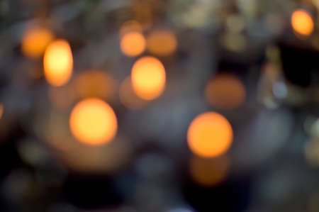 abstract light from candle for background