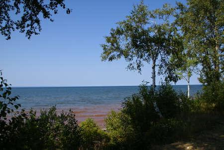 superior: Lake Superior Stock Photo