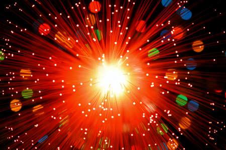 fibre optique: Fibre optique Explode