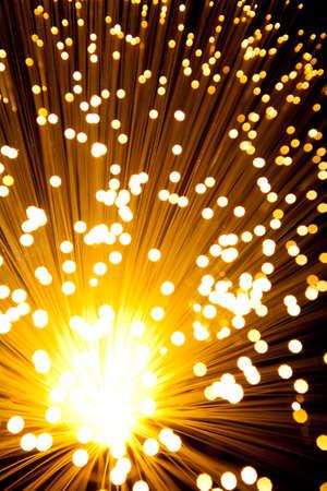 Golden explode or shower