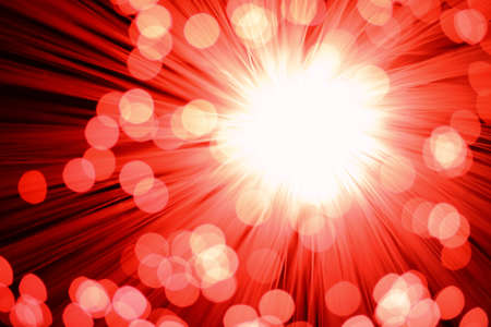 Fiber Optic Light Explode Stock Photo