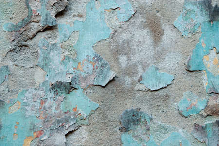 Wall detail by grunge texture Stock Photo