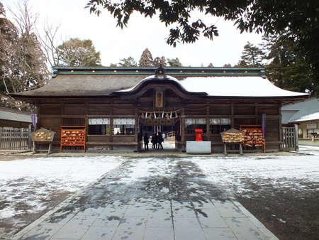 Osaki Hachimangu Shrine in Sendai, Japan Editorial