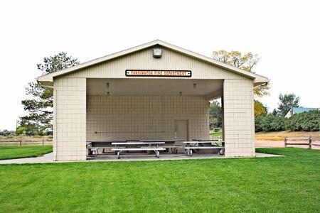 picknic: City of Torrington, Wyoming park shelter house
