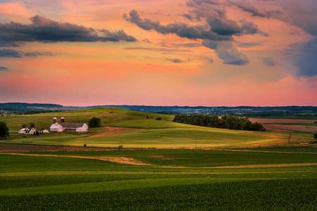 Mid-western evening