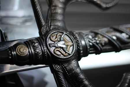 Sword Hilt Closeup