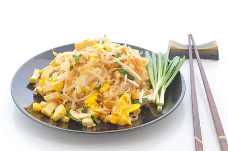 Thai noodles style , Padthai Stock Photo - 18493914
