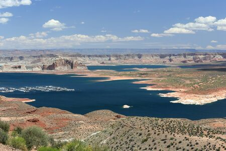 page arizona: Lake Powell resort area, town near Page, Arizona