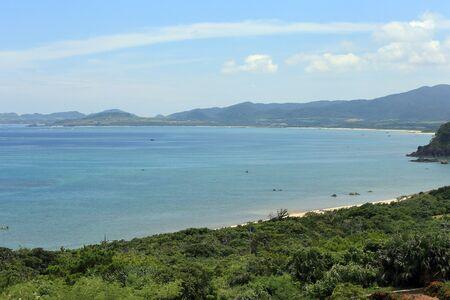 Tamatorisaki observertory から石垣島を風景します。 写真素材 - 76982608