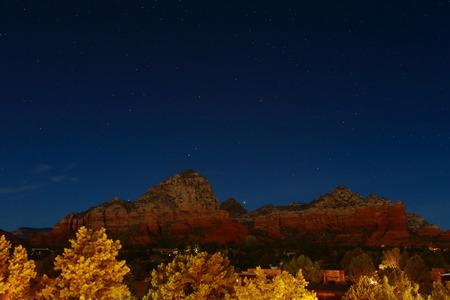 sedona Starry night