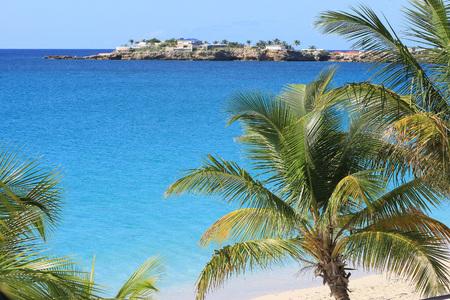 Simpson Beach in St.Martin Island