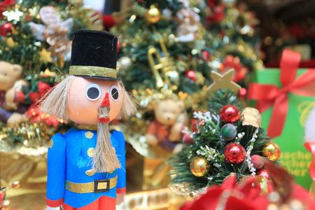 Nutcracker for Christmas ornament