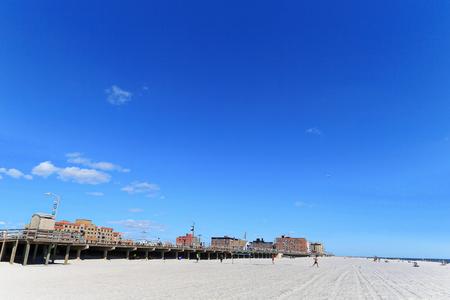 Long beach at Long island NYC Stok Fotoğraf