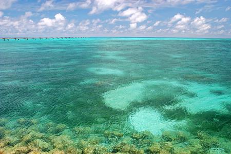 SHIMOJI island Seascape at Miyako islands, Okinawa
