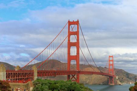 alcatraz: Golden gate bridge in San Francisco