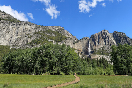 west river: Yosemite National Park Stock Photo