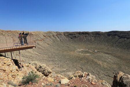 Meteor Crater Natural Landmark Banco de Imagens