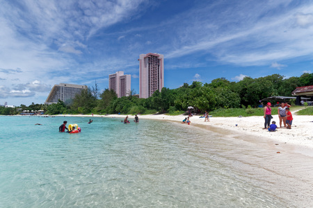 Tamun Beach, Guam island