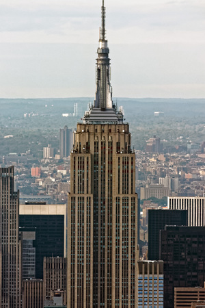 Aerial View of Manhattan, New York City