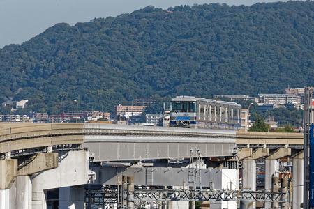 Osaka Mono Rail, at Hotaru ga ike station