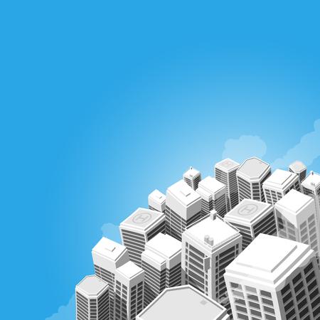 buildings - vector Illustration 向量圖像