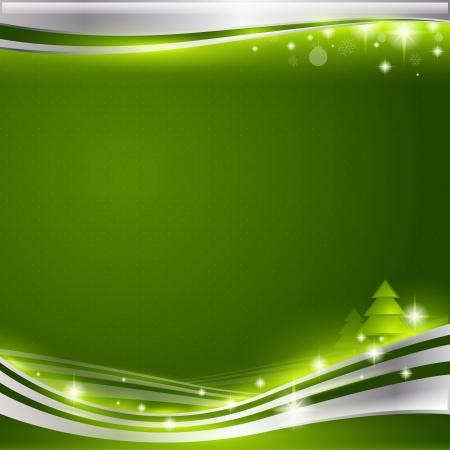 background Christmass  - vector Illustration