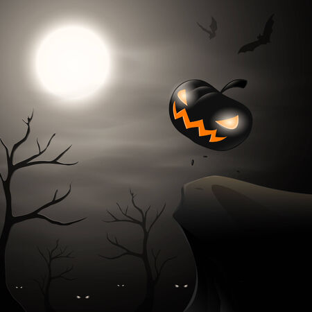 Halloween background   向量圖像