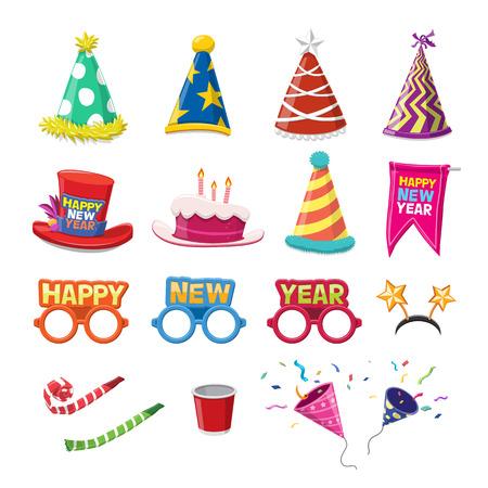 festa: Celebration Icons Set - ilustração do vetor