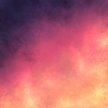 The gradient background digital illustration
