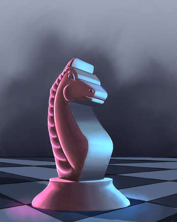 Knight on the chess board