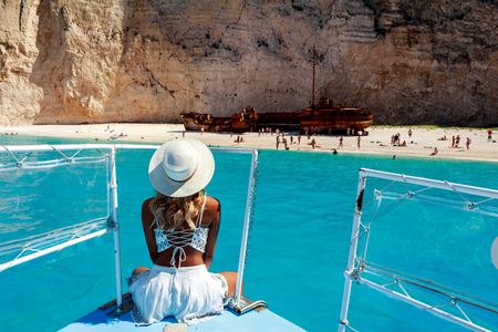 Model Photography in Shipwreck beach , Zakynthos