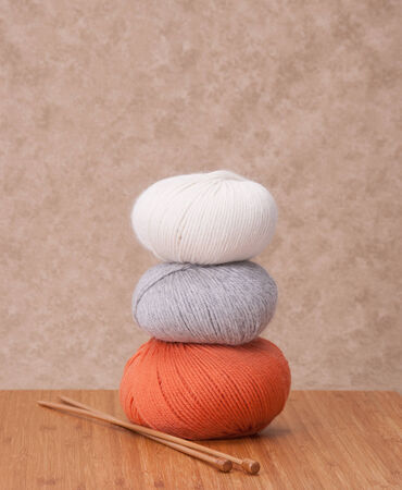 Knitting Accessories. Yarn Balls photo