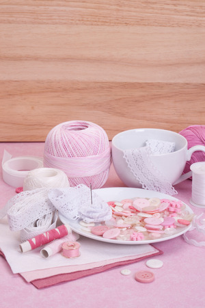 needle lace: Sewing Craft Kit. Tailoring Hobby Accessories