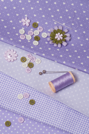 Tailoring Hobby Accessories. Sewing Craft Kit photo