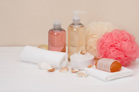 Liquid Soap, Aromatic Bath Salt And Other Toiletry photo
