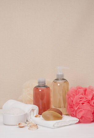 toiletry: Liquid Soap, Aromatic Bath Salt And Other Toiletry