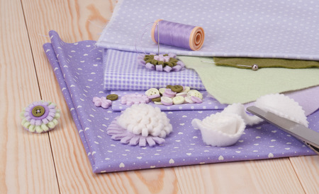 Sewing Craft Kit. Tailoring Hobby Accessories photo