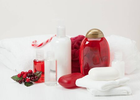 toiletries: Shampoo, Soap Bar And Liquid. Toiletries, Spa Kit, Towels.