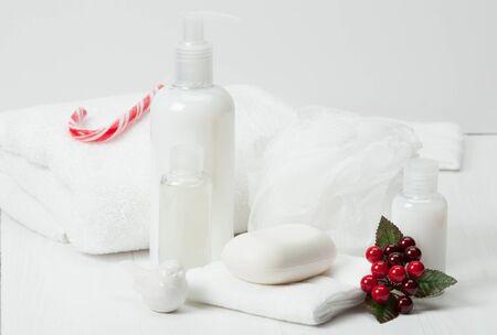 productos de aseo: Champ�, jab�n barra y l�quido. Art�culos de higiene, Kit Spa, Toallas.