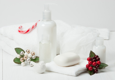 Shampoo, Soap Bar And Liquid. Toiletries, Spa Kit, Towels.