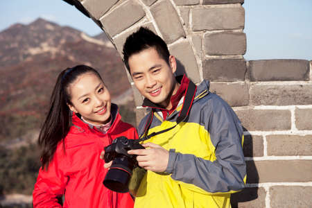 Young couples in the suburbs tourism