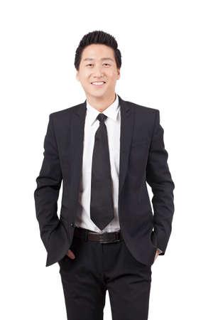 Portrait of a Confident Businessman Banco de Imagens