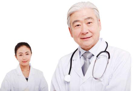 Orient portrait of doctor
