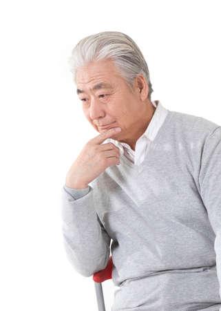 The old man portrait